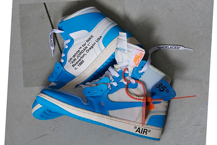 OFF-WHITE x Air Jordan 1 UNC (AQ0818-148) - Mood