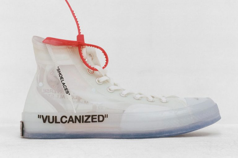 OFF-WHITE x Converse Chuck Taylor (162204C)