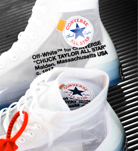 OFF-WHITE x Converse Chuck Taylor (162204C) - Overkill (Collar)