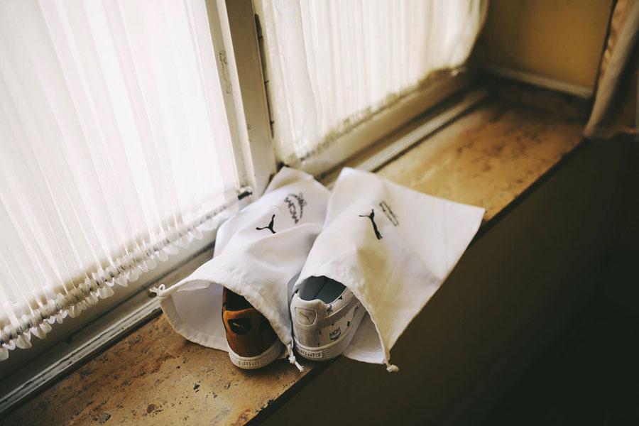 PUMA x MCM Suede Classic 50 - White (Dustbag)