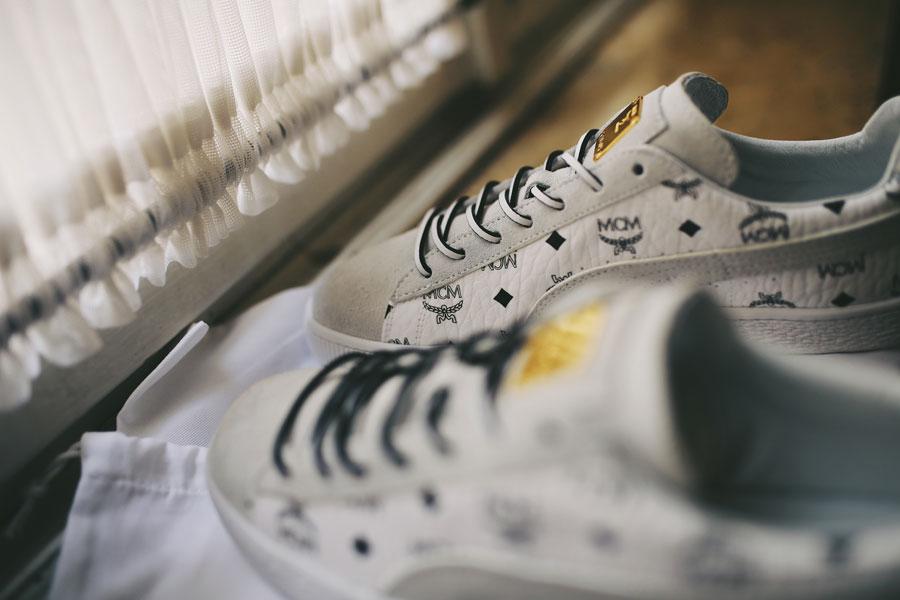PUMA x MCM Suede Classic 50 - White (Laces)