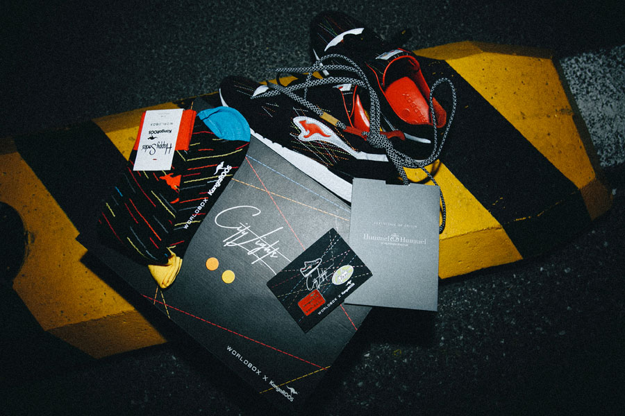 Worldbox x KangaROOS Coil-R1 City Lights - Box