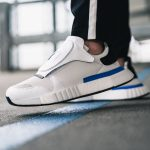 adidas Futurepacer Grey One Ftwr White Core Black (AQ0907) - On feet