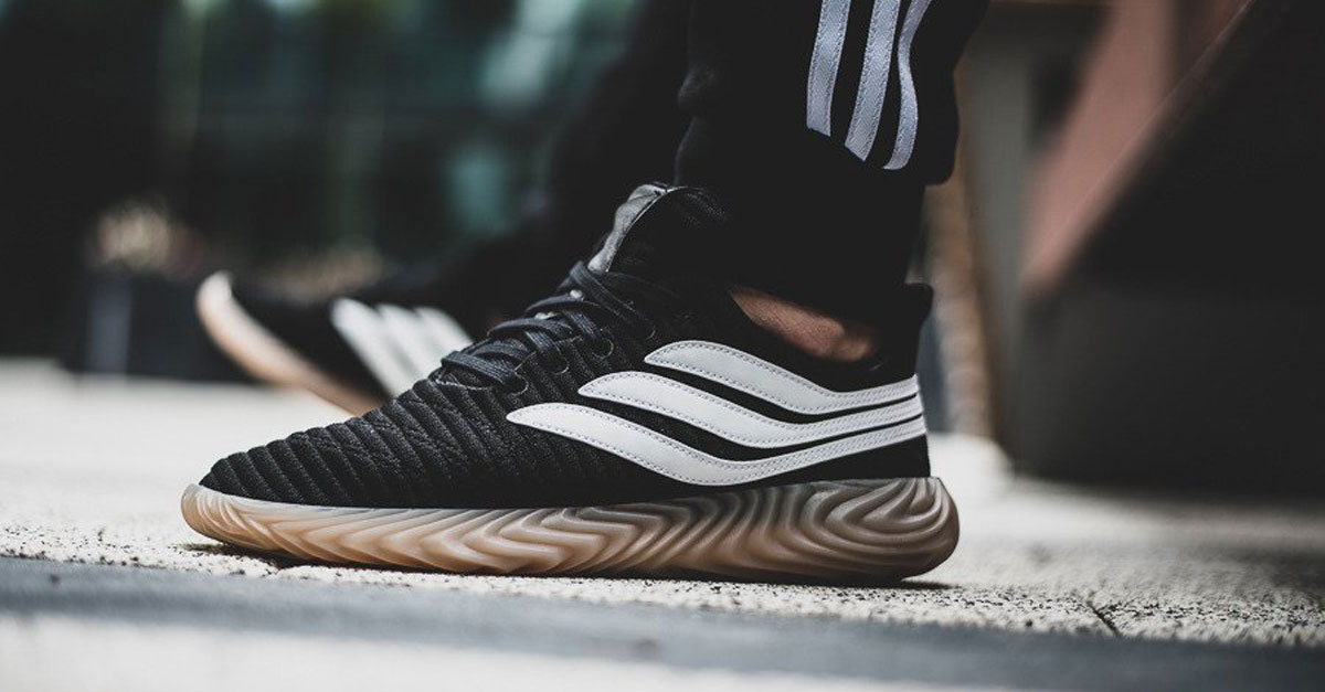 Adidas Sobakov Black White Gum 2018 Men