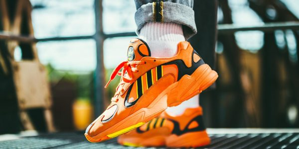Here's a Fresh On-Feet Look at the adidas Yung-1