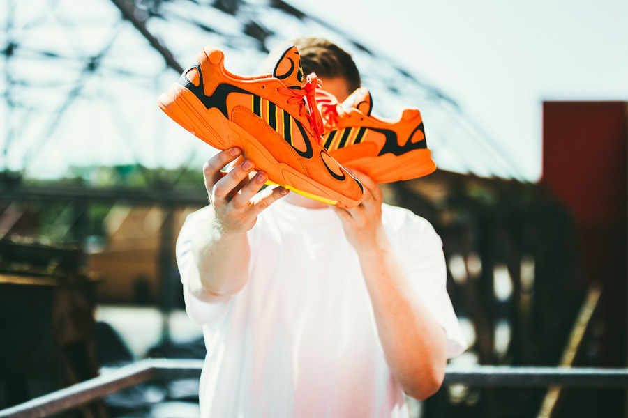 adidas Yung-1 HiRes Orange (B37613)