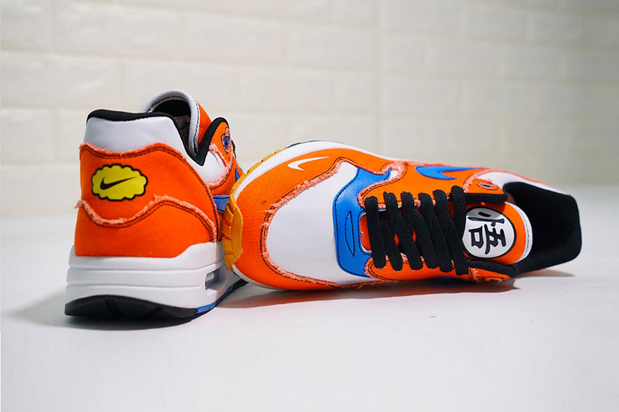 Dragon Ball Z x Nike Air Max 1 – Son Goku Custom | Sneakers