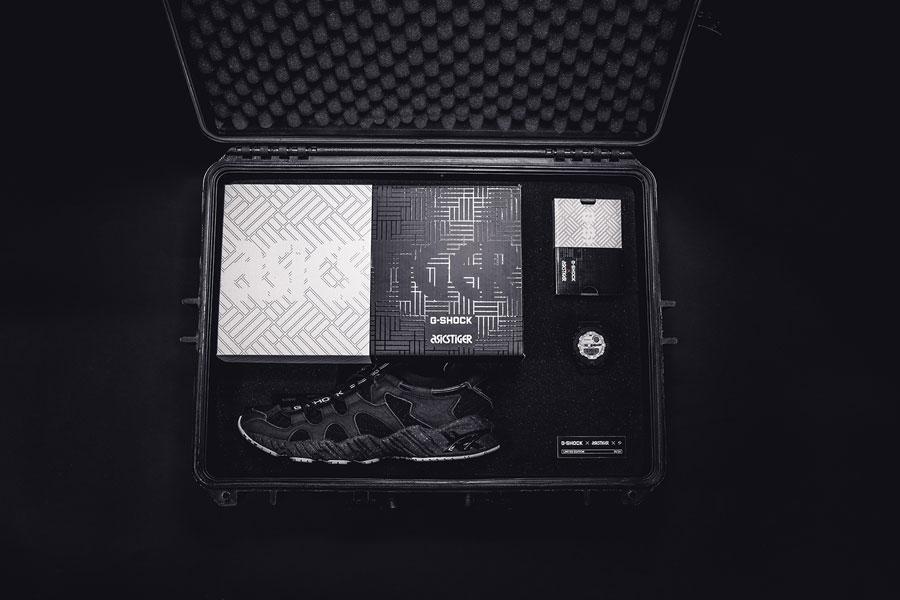 G-SHOCK x ASICS GEL-Mai Knit Black (H8P2N-9090) - Box