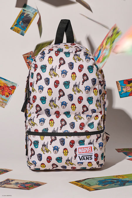 Marvel x VANS OFF THE WALL Collection 2018 - Avengers Backpack
