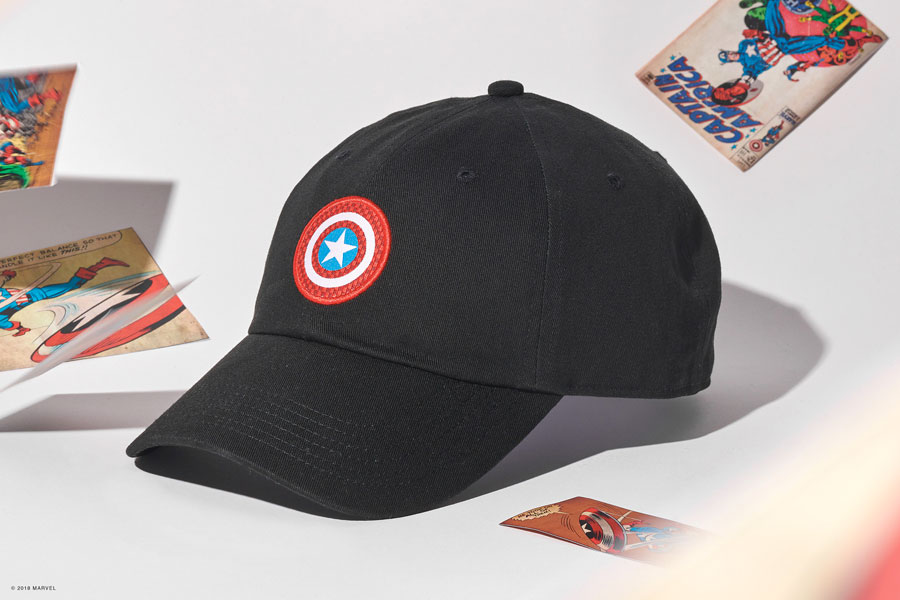 Marvel x VANS OFF THE WALL Collection 2018 - Captain America Hat