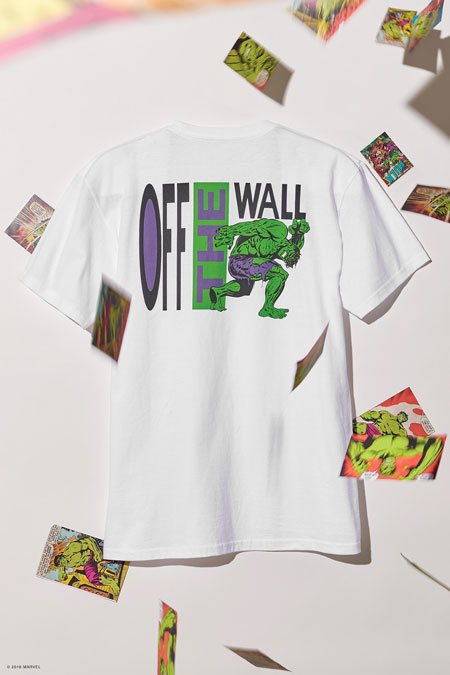 Marvel x VANS OFF THE WALL Collection 2018 - Hulk T-Shirt