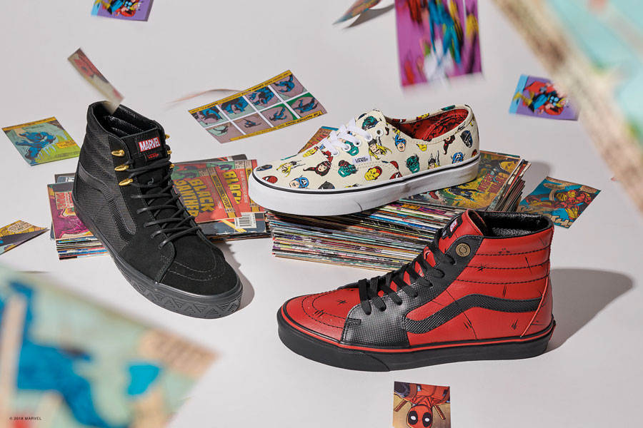 Marvel x VANS OFF THE WALL Collection 2018 - Mens 1