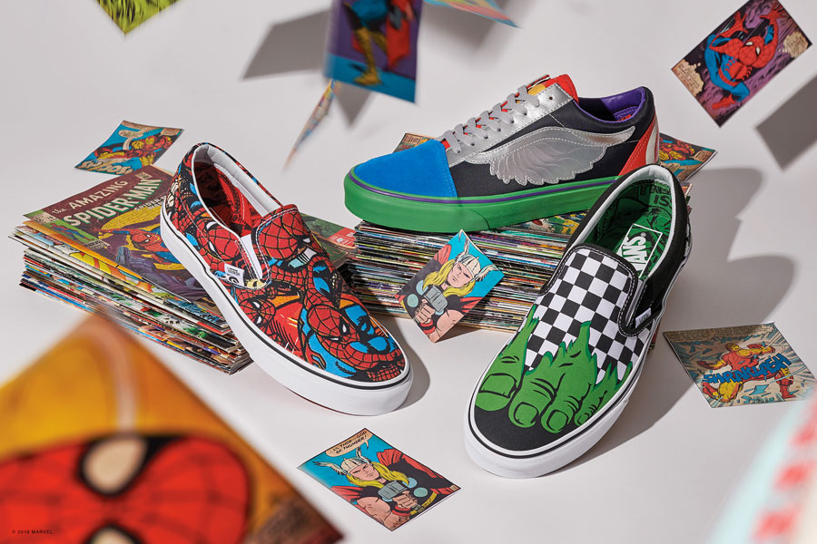 Marvel x VANS OFF THE WALL Collection 2018 - Mens 2