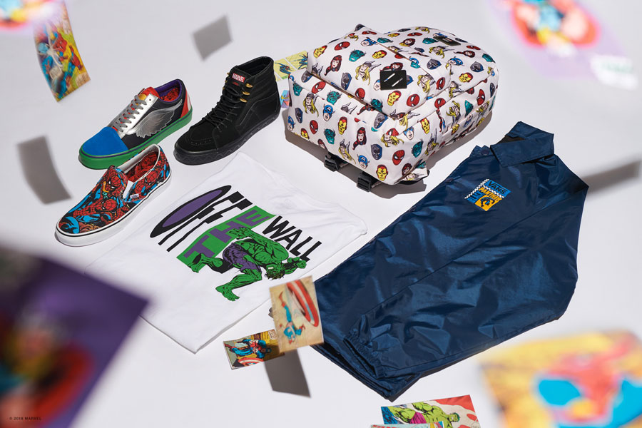Marvel x VANS OFF THE WALL Collection 2018 - Mens Key Pack