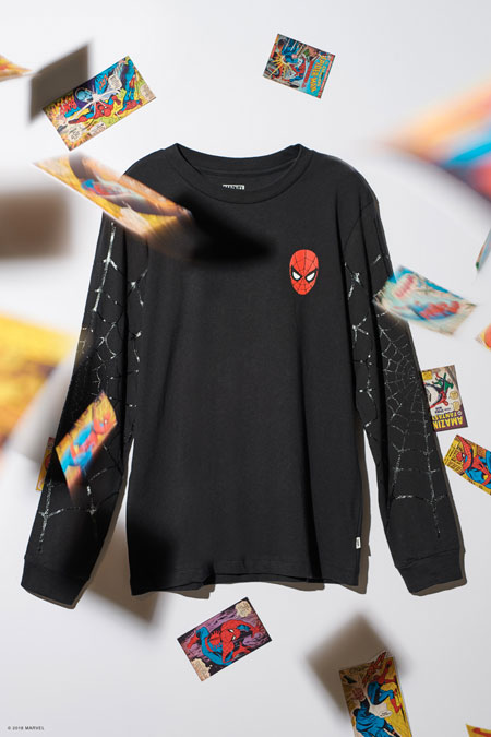 006b564648d Marvel x VANS OFF THE WALL Collection 2018 - Spider-Man Longsleeve