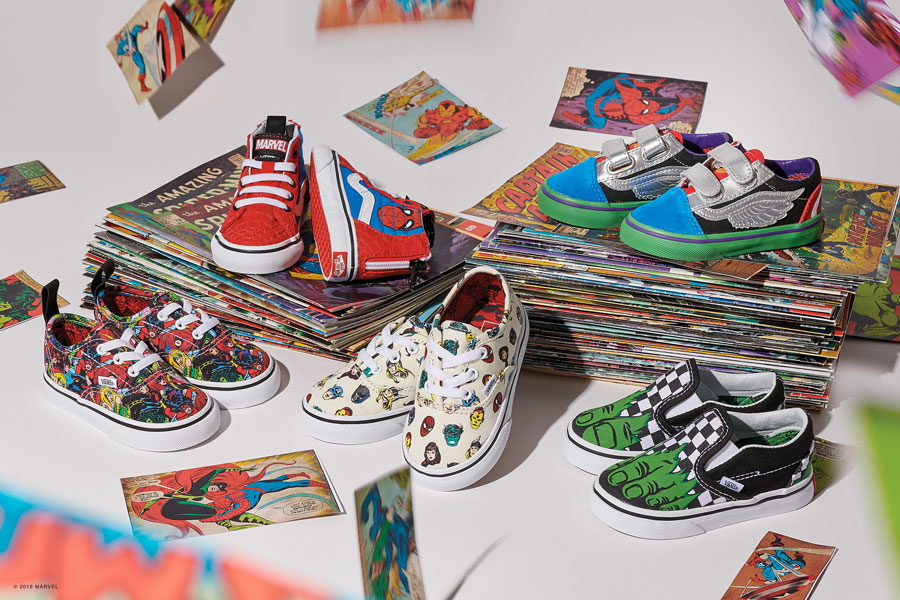 Marvel x VANS OFF THE WALL Collection 2018 - Toddlers
