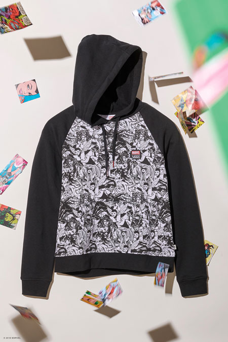 Marvel x VANS OFF THE WALL Collection 2018 - Women Hoodie
