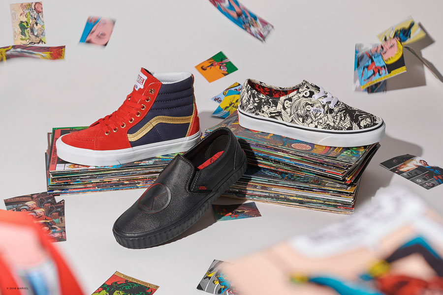 Marvel x VANS OFF THE WALL Collection 2018 - Womens