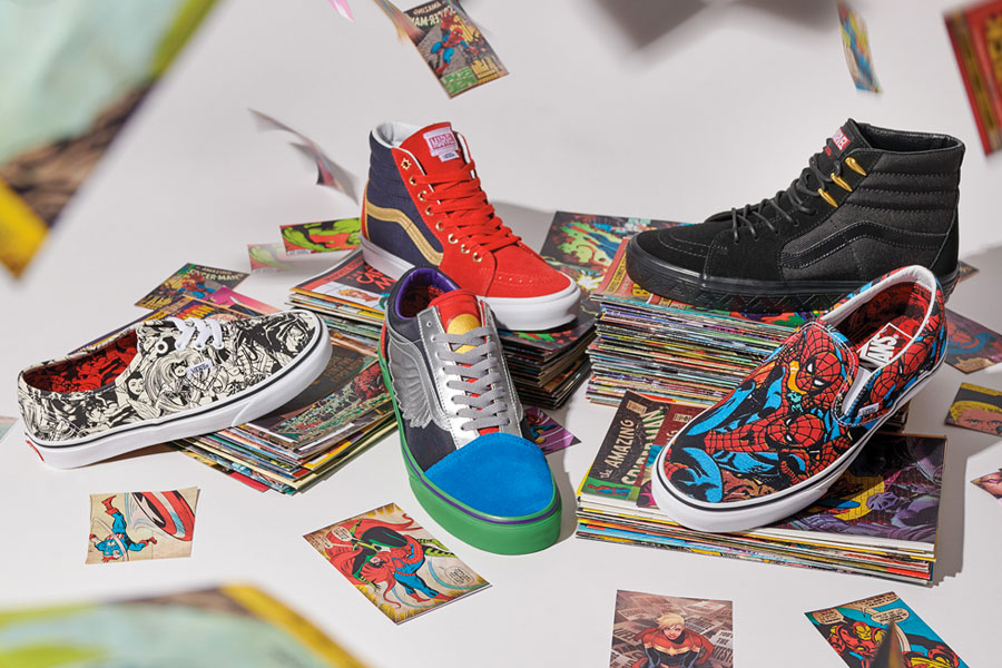 Marvel x VANS OFF THE WALL Collection 2018
