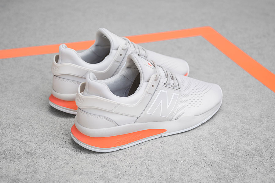 New Balance 247v2 Tritium Pack - White Orange