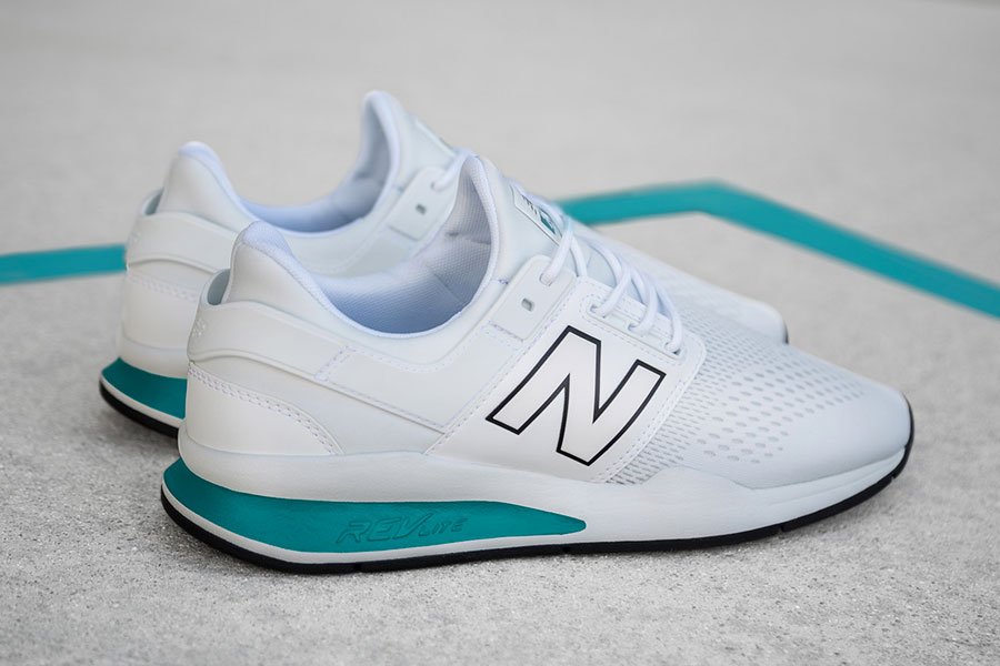 New Balance 247v2 Tritium Pack - White Teal