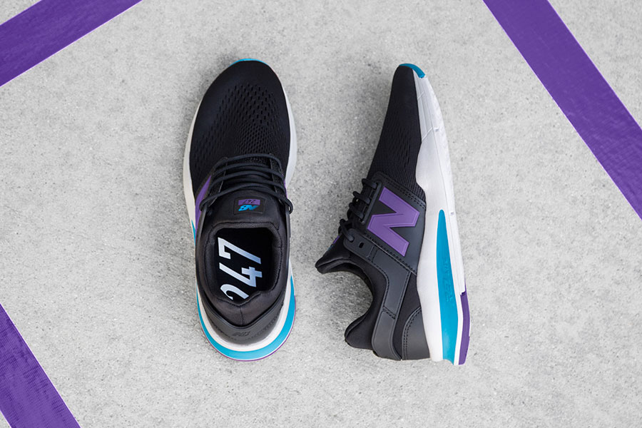 New Balance 247v2 Tritium Pack (Womens) - Black Purple