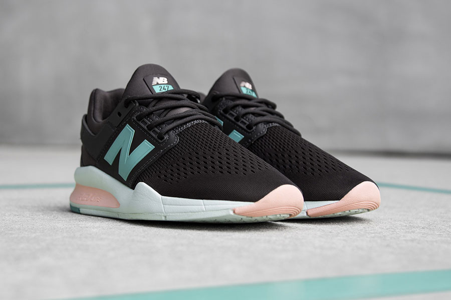 New Balance 247v2 Tritium Pack (Womens) - Black Rose Mint