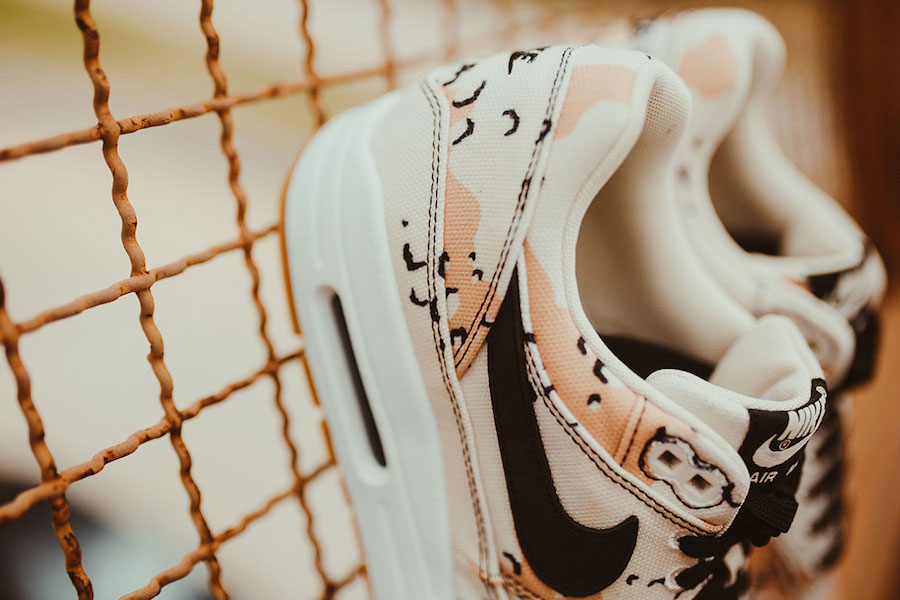 Nike Air Max 1 Premium Beach Camo (875844-204) - Collar
