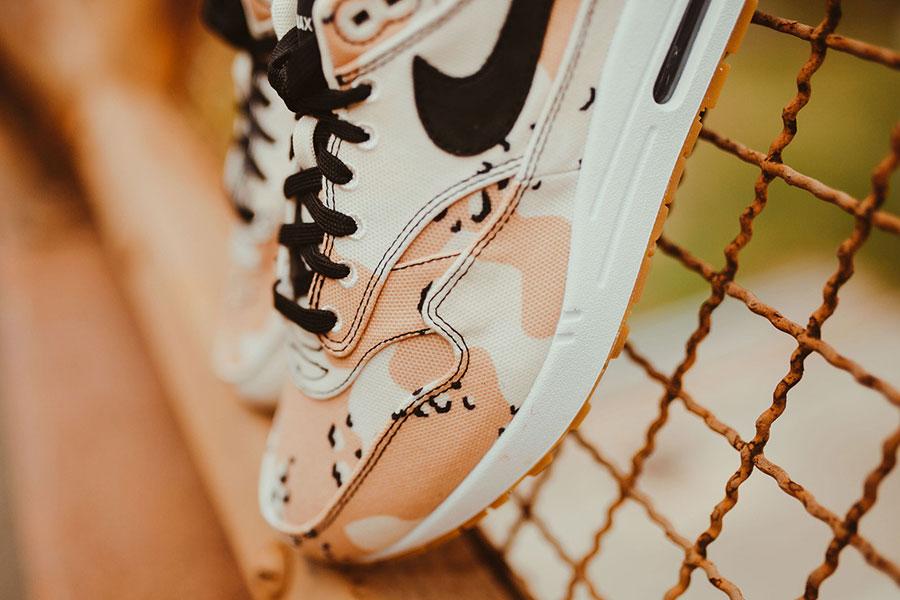 Nike Air Max 1 Premium Beach Camo (875844-204) - Forefoot