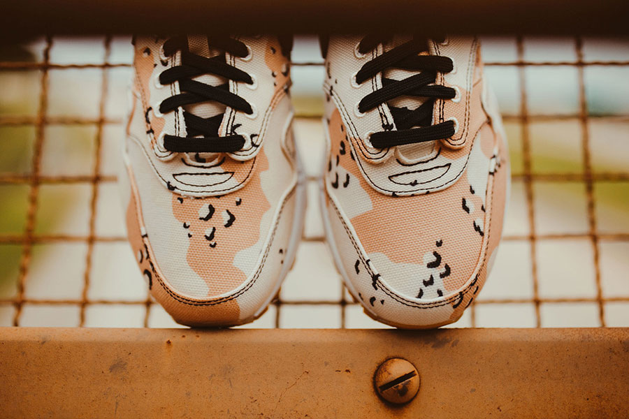 Nike Air Max 1 Premium Beach Camo (875844-204) - Toebox