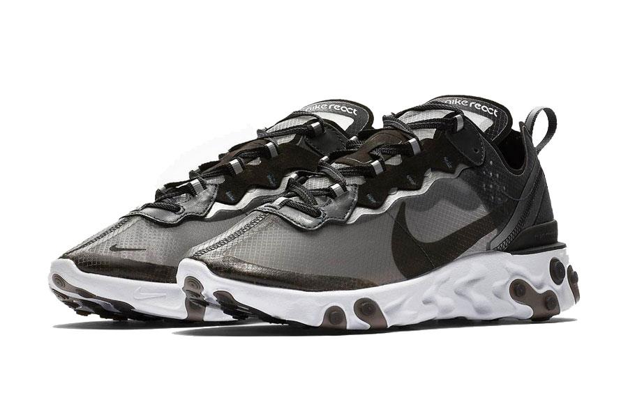 026472e3252e3f Nike React Element 87 Anthracite Black White (AQ1090-001)