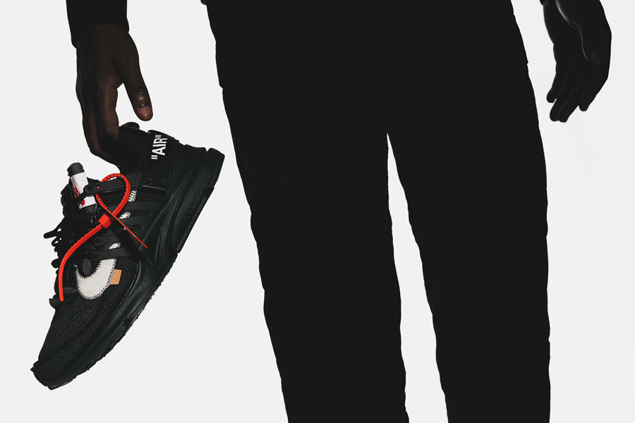 OFF-WHITE x Nike Air Presto Polar Opposites Black (AA3830-002) - Mood