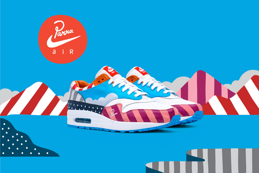 Piet Parra x Nike Air Max 1 2018 Collaboration - Friends Family (Mood)