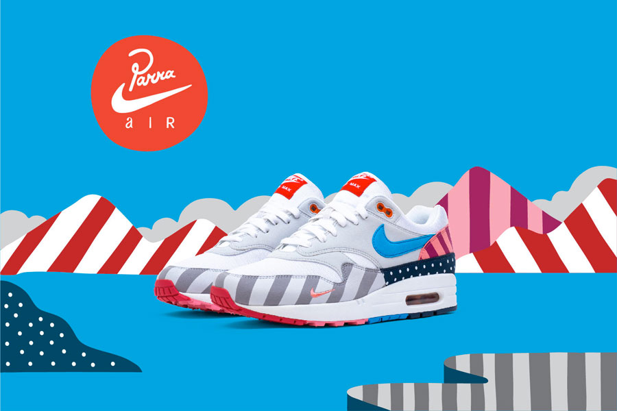 First Look at the Parra X Nike Air Max 1 2018 Collab