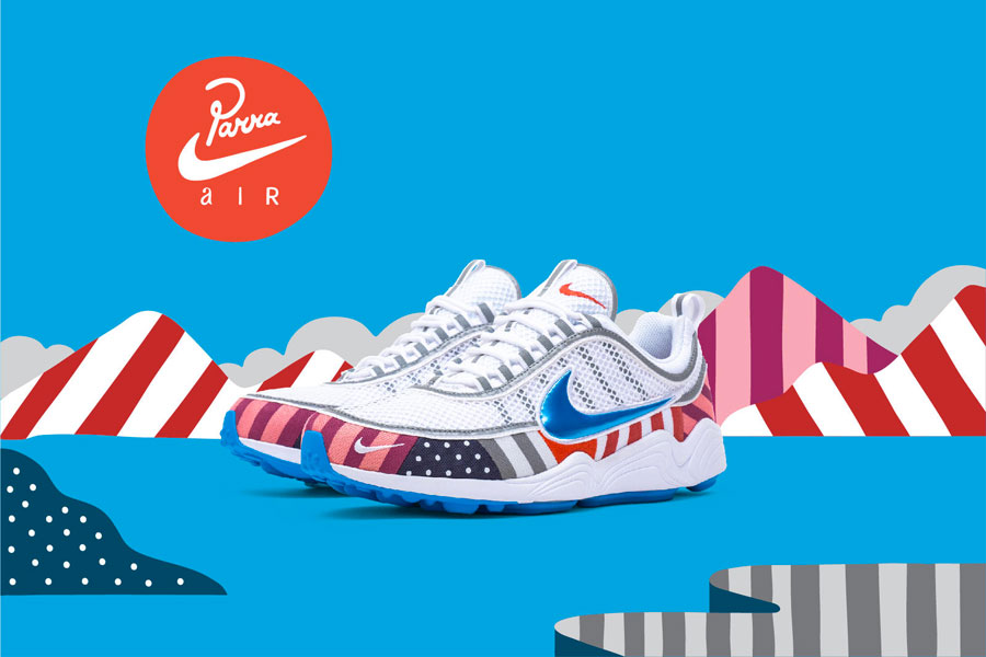 Piet Parra x Nike Air Zoom Spiridon (Mood)