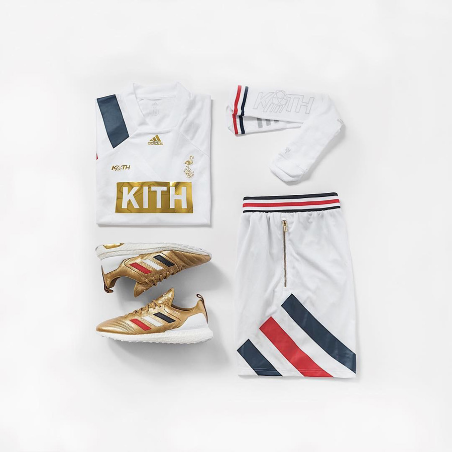 Ronnie Fieg Kith x adidas Football 2018 Collection - Copa Mundial (Jersey, Shorts, Socks)