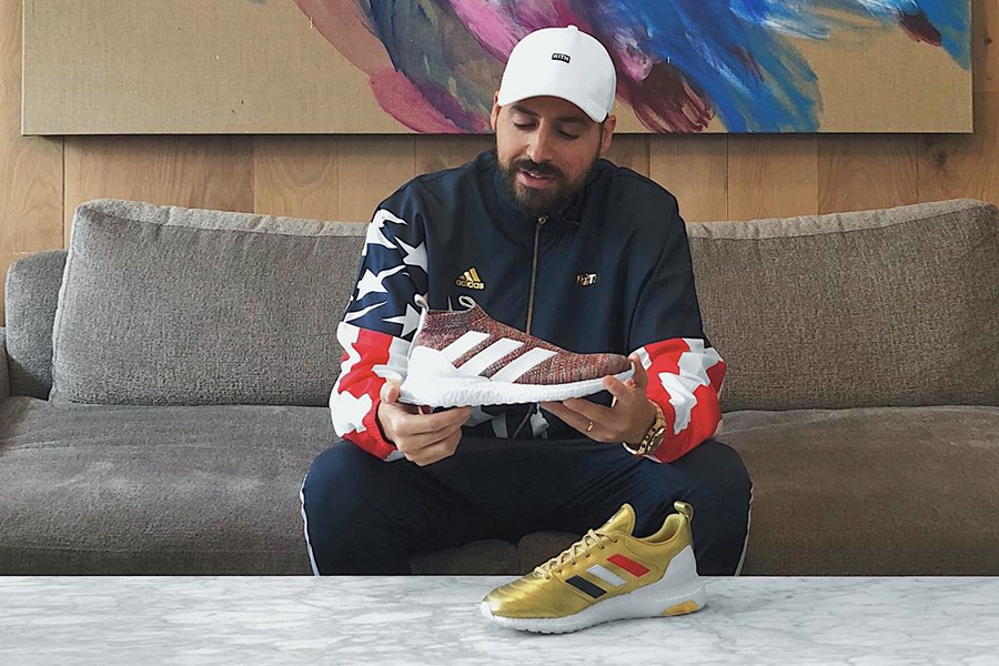 huge selection of 6ea48 c2e76 Ronnie Fieg Teases a Kith x adidas Football Collection