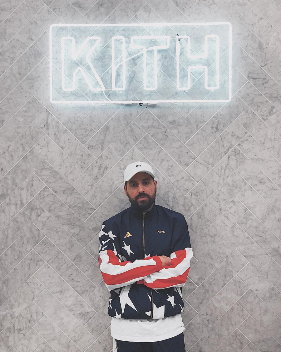 Ronnie Fieg Kith x adidas Football 2018 Collection - Track Jacket