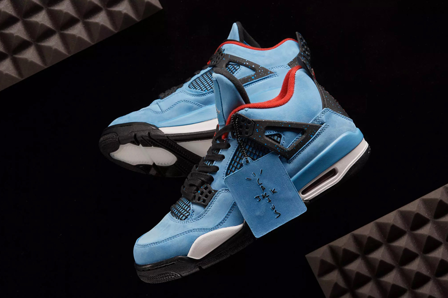 "d4cfa0cc323cfa Enter the Raffle for the Travis Scott x AJ4 ""Cactus Jack"""