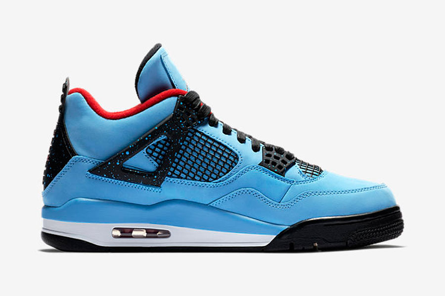 Travis Scott x Air Jordan 4 Cactus Jack (308497-406) - Right