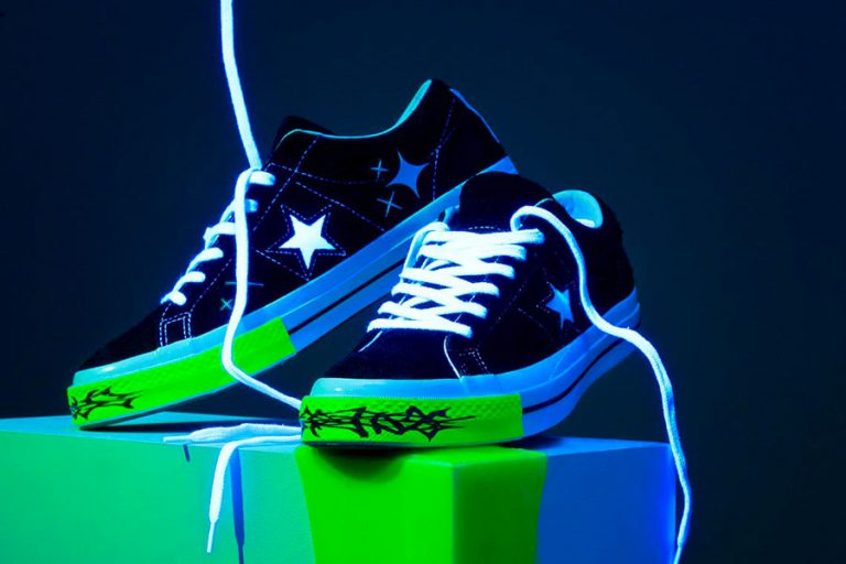 Yung Lean x Converse One Star Toxic