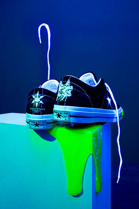 Yung Lean x Converse One Star Toxic - Back
