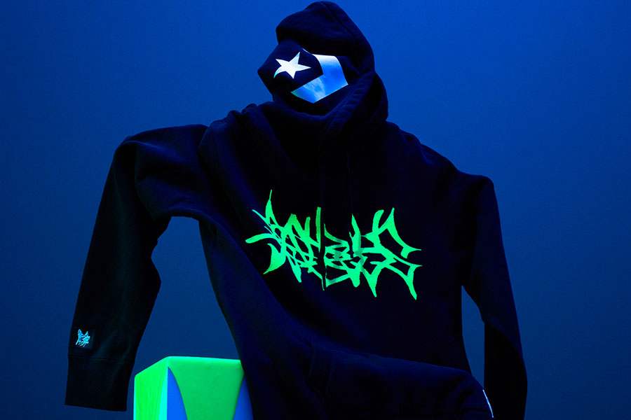 Yung Lean x Converse One Star Toxic - Hoodie (Black)