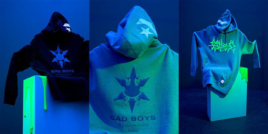 Yung Lean x Converse One Star Toxic - Hoodies