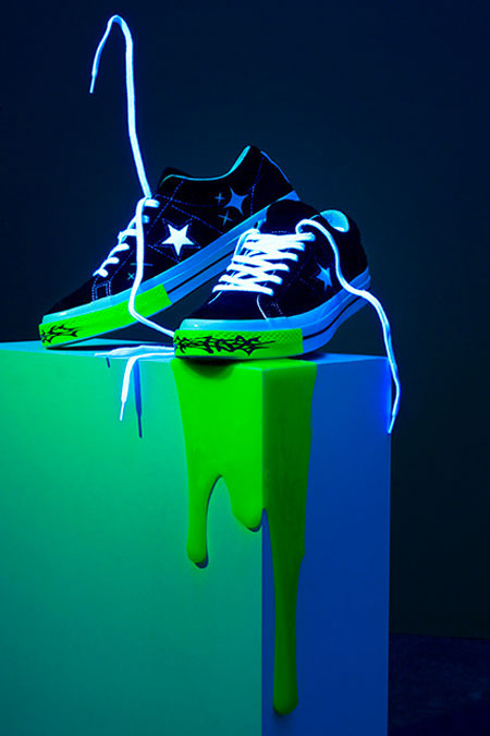 Yung Lean x Converse One Star Toxic - Mood