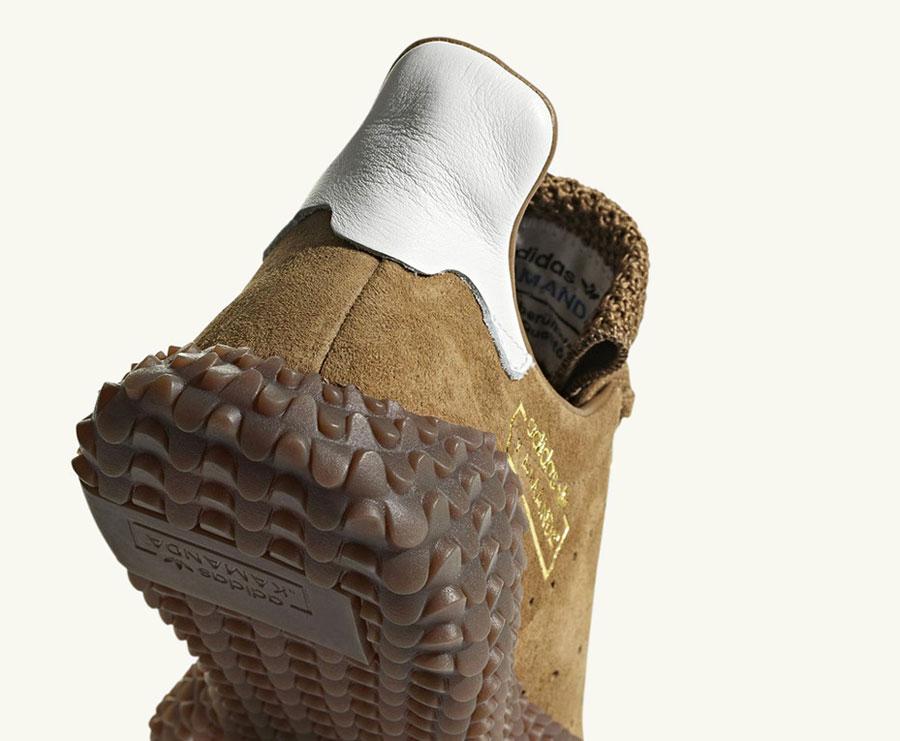 adidas Kamanda Brown Pack - Brown Raw Desert Crystal White (Sole)