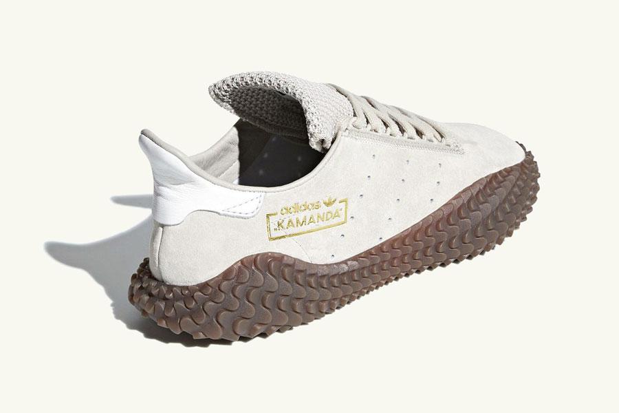 adidas Kamanda Brown Pack - Clear Brown Crystal White (Heel)