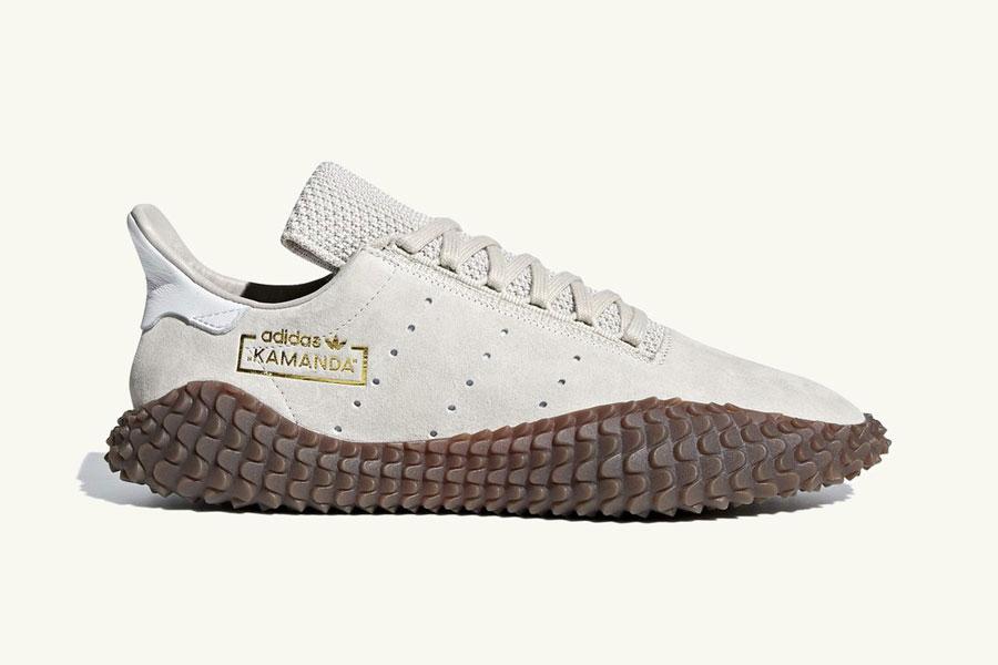adidas Kamanda Brown Pack - Clear Brown Crystal White (Side)
