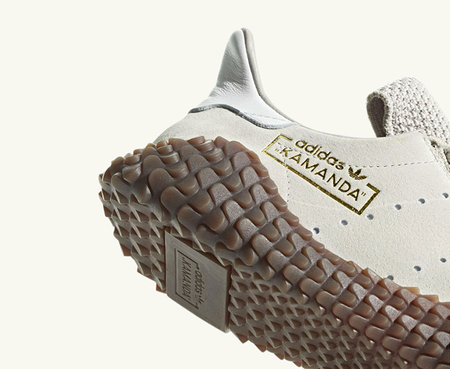 adidas Kamanda Brown Pack - Clear Brown Crystal White (Sole)