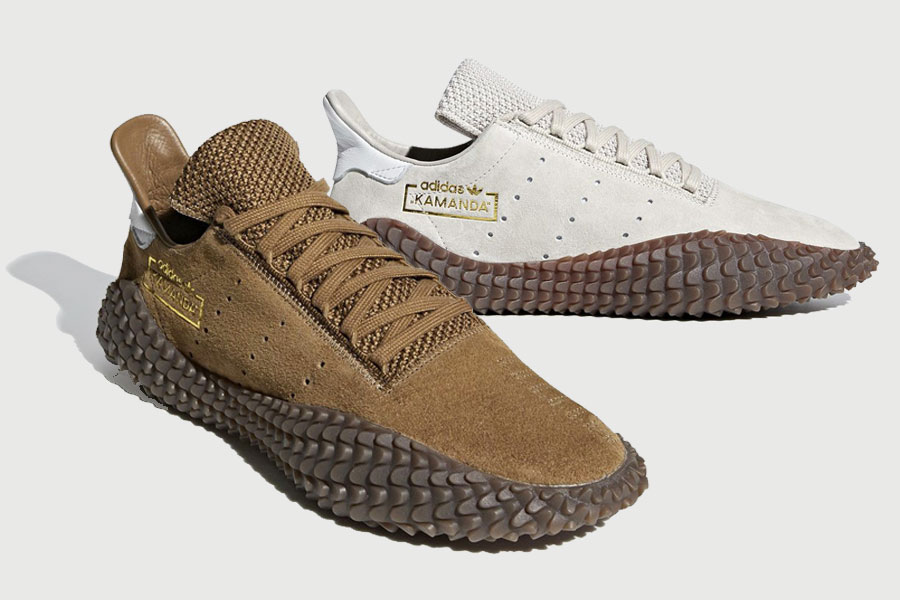"""newest 31584 cee40 A First Look at the adidas Kamanda """"Brown Pack"""""""